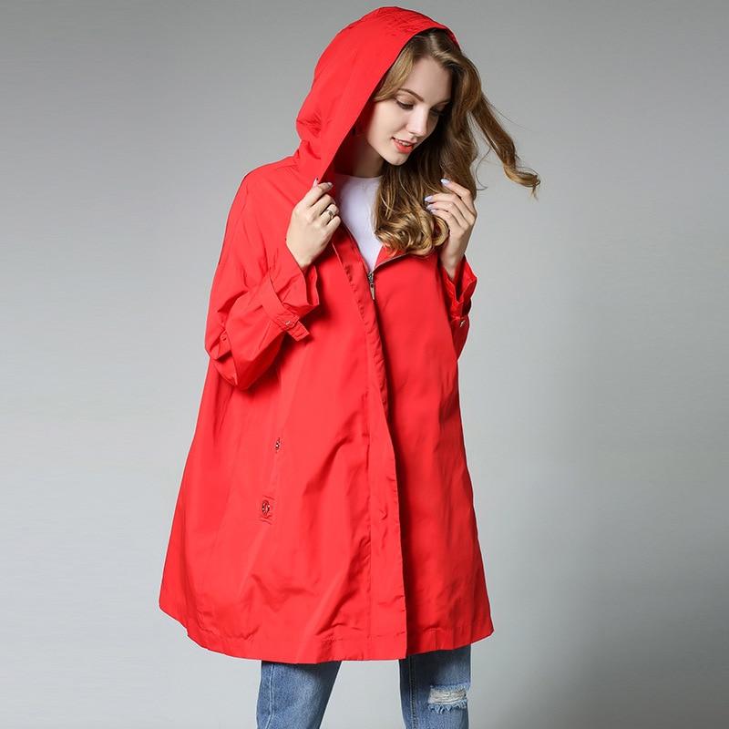 2017 Waterproof Winter Coat Fall Fashion Red Fall Autumn ...