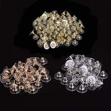 Alloy Earring Backs Stoppers Earnuts Stud Earring Stopper Back Plugs DIY Jewelry Findings Accessories Making