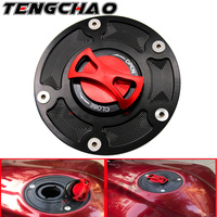 Motorcycle CNC Keyless Gas Fuel Tank Cap Cover For Ducati DIAVEL / X DIAVEL 899 PANIGALE/ 959 PANIGALE ALL YEARS