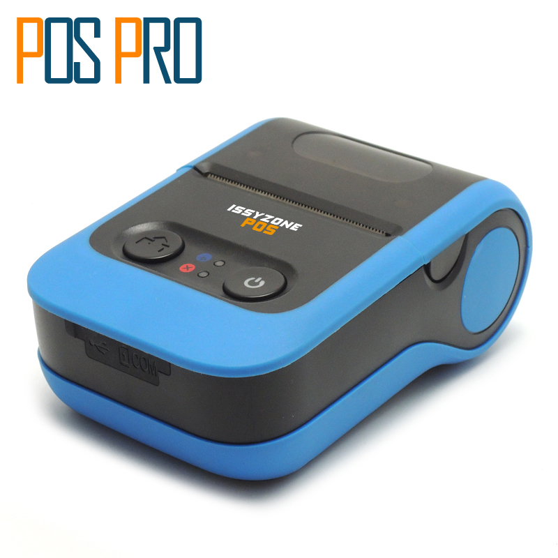 IMP020 2 in 1 58mm Mini portable Printer Bluetooth Thermal printer receipt and label For Android/iOS With Lithium battery