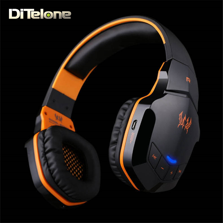 KOTION EACH B3505 Bluetooth Headphones Wireless Stereo Gaming Headset With Mic Headband For PC Music Iphone Xiaomi