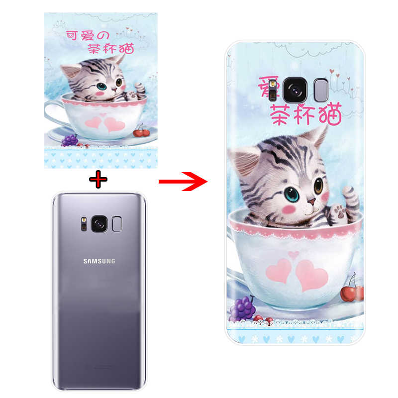 Silicone Mềm TPU Tùy Chỉnh Hình Ốp Lưng Điện Thoại Samsung Galaxy S6 S6edge A7 S7edge A5 J7 2016 S8 S9 S10 plus J6 J8 2018