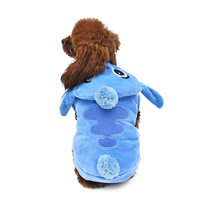 US Shipping Pet Clothes Adorable Cartoon Warm Dog Cat Costumes Soft Easy To Wear Hoodie Coat