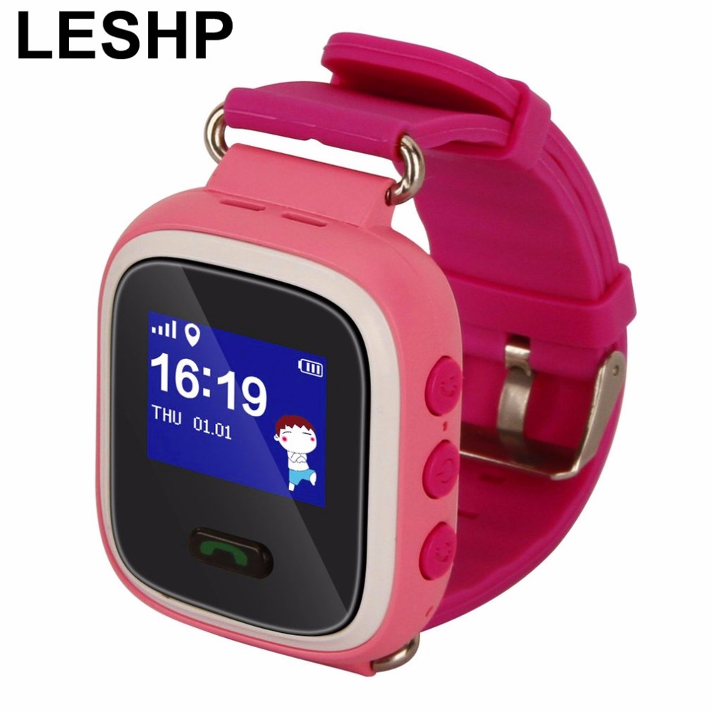 Child Cute Smartwatch Safe-keeper Sos Call Anti-lost Monitor Real Time Tracker For Children Base Station Location App Control Buy One Give One Digital Watches
