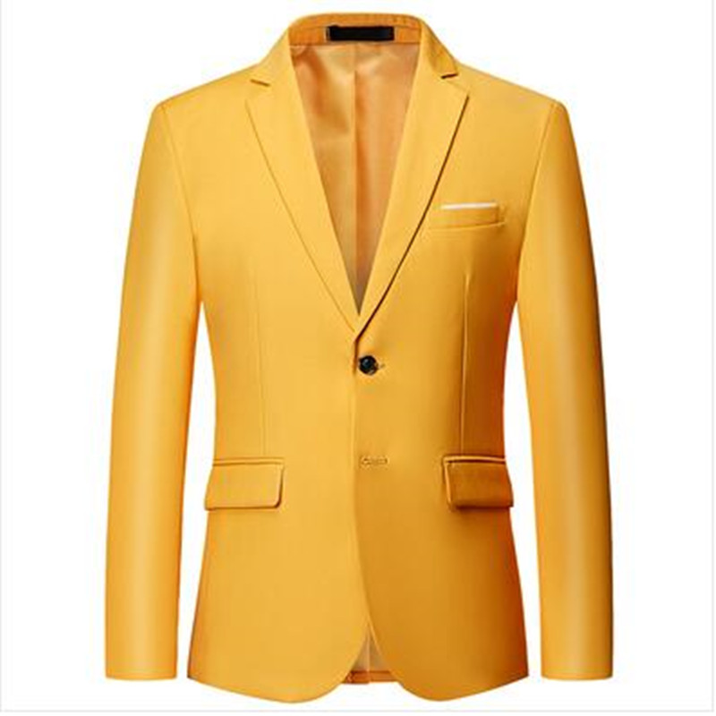 Men s Jean Jacket Slim Men Fits Denim Jacket Solid Male Jean Coats Men Cowboy Fashion