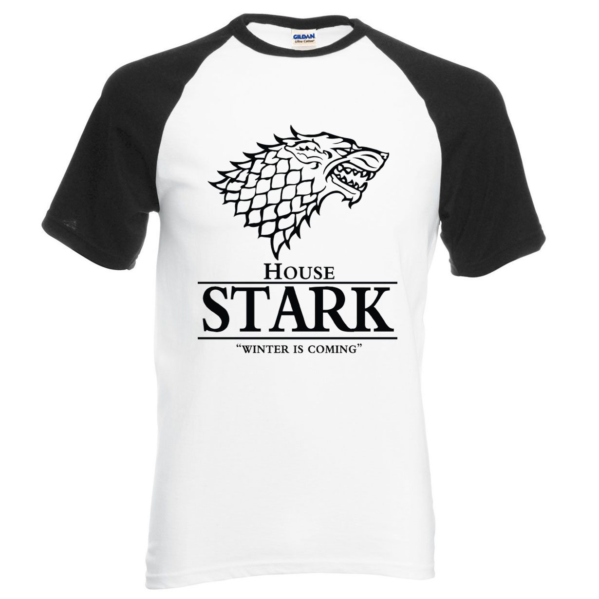 HAMPSON LANQE Game of Thrones t shirt 100% cotton top tees