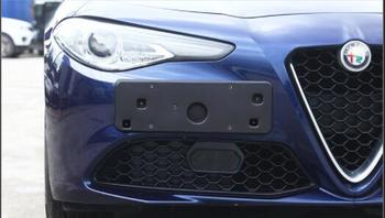 For Giulia license plate bracket refitted license plate frame license plate base license plate frame fittings фото