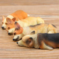 [PCMOS] Welsh Corgi Dogs Fridge Magnets Animal Collectible Dog Figure Figurine Statue Gift Collection Free Shipping 16101512