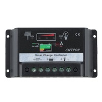 1pc 1pc 20A Actuaully 12V / 24V Auto Distinguish PWM Solar Street Light Panel Charge Controller Top Sale