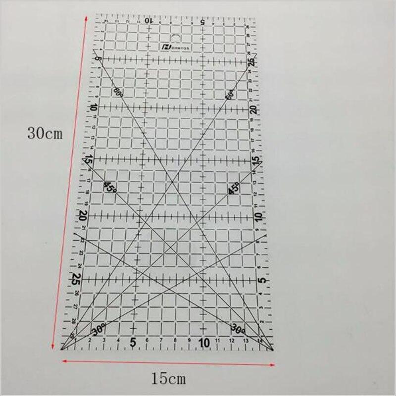 1 шт./30x15 см/Длина Толщина 2 мм, лоскутное шитье Вышивание стопы незаменимым инструментом для DIY Вышивание ...