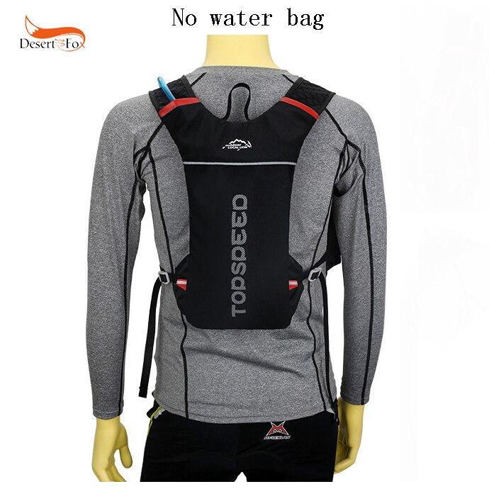 Pacchetto Striscia 3 Stile Poliestere Zaino Della Idratazione Con Sacchetto Riflettente La Acqua Maratona Di Maglia Esterno Colore UZWrU