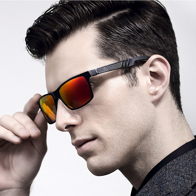 2016 Novos Óculos De Sol Dos Homens Polarizados de Alumínio Quadrado Do Vintage Óculos de Sol VEITHDIA Óculos gafas oculos de sol masculino 6560