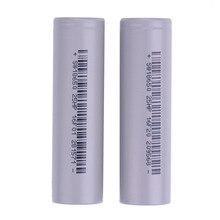Recarregável com Embalagem Dreno de do de do Poder 3.7 V 18650 Bateria Padrão DA 2500 Mah Alta Poder 186502 Pcs LI Tracção