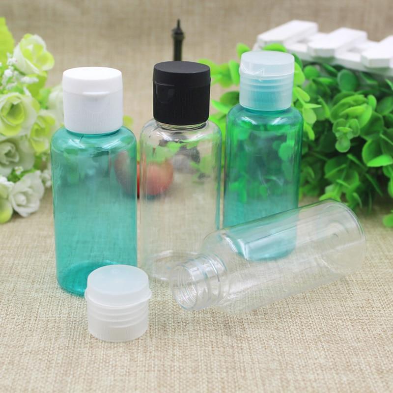 Wholesale 50pcs 80ml Flip cap refillable bottle Perfume Atomizer Spray Bottles Small Empty Bottle container free