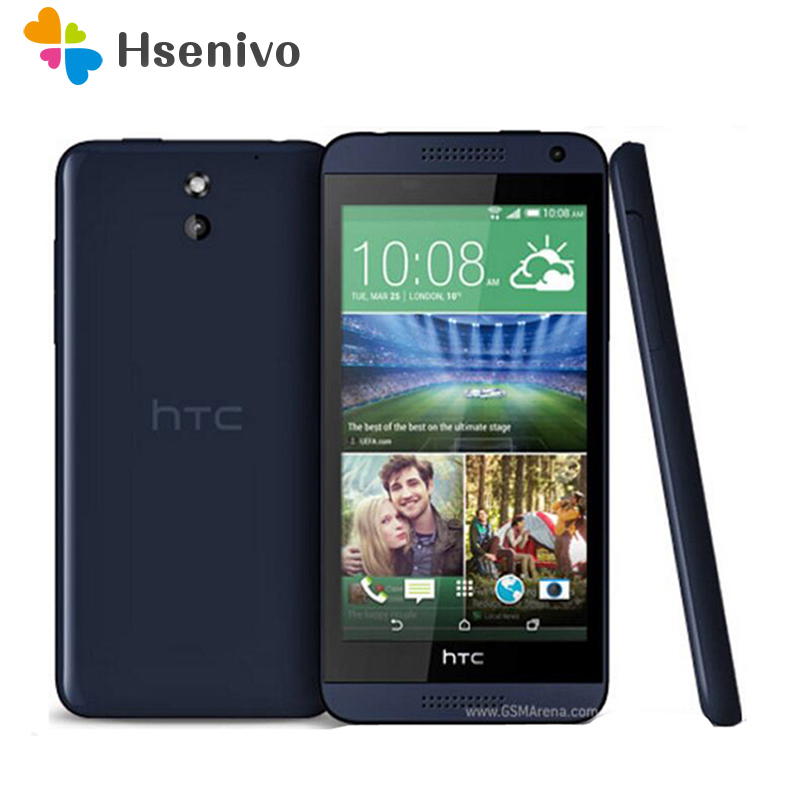 Original HTC Desire 610 Qual Core phone 4.7'TouchScreen 1GB RAM 8GB ROM GPS Wifi Unlocked 3G &4G Android Cellphone Refurbished image