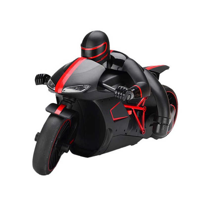 2.4G Mini Moda RC Motosiklet Serin Işık ile Yüksek Hızlı RC Motosiklet Model Oyuncaklar Uzaktan Kumanda Sürüklenme Motorlu Çocuk oyuncak Hediye için