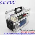 CE EMC LVD FCC Factory outlet BO-1030QY 0-10 g/h 10 gram ajustable de aire generador de ozono agua de fruta de la máquina y la arandela vegetal