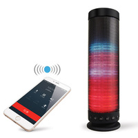 Yoteen LED Bluetooth Speaker Colorful 360 Degree Surround Loudspeaker Stereo Portable Wireless Disco Lights FANTASY COLOR