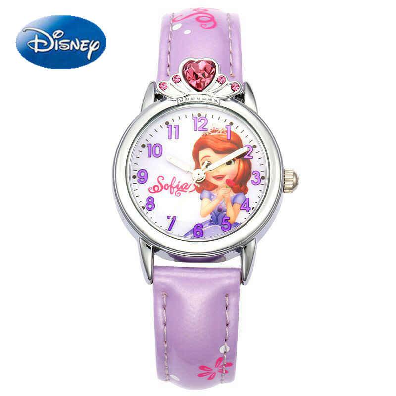 София девушки часы Корона с алмазами красивая принцесса детские Студенческие часы студенческий обратно в школьный подарок