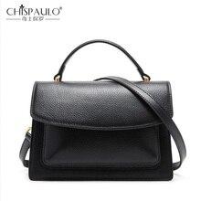 Женская сумка из натуральной кожи с тиснением, модная женская сумка-мессенджер, Высококачественная женская сумка через плечо, повседневные женские сумки-шоперы