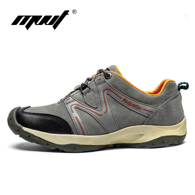 High quality Suede Hiking shoes Men Sneakers Spring Outdoor  Sports shoes for men Athletic shoes Zapatillas deportivas
