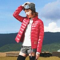 Jessica S Store Winter Women Streetwear Brief Casual Loose Slim Warm Stand Collar Short Jacket Coat
