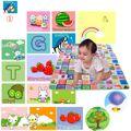 Tapetes de Jogo do bebê 200x180 cm Doulble Side-Frutas Tapetes Jogo Do Alfabeto Digital Para Crianças Praia Mat Piquenique tapete Bebê Crawling Mat