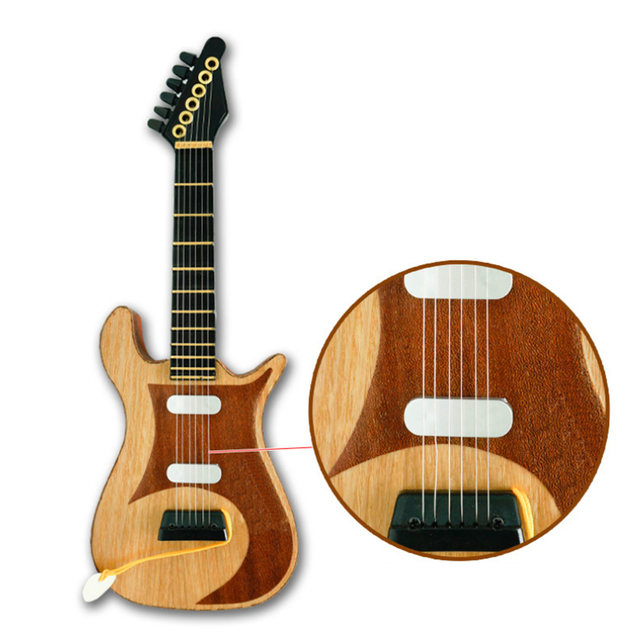 Mini Wooden Guitar for Beginners