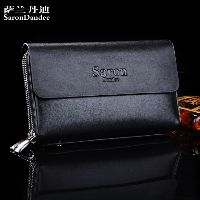e093f585fe6 Latest Style Genuine Leather Men Hand Bag Wallet Purse Handbags Men large  capacity clutch bag