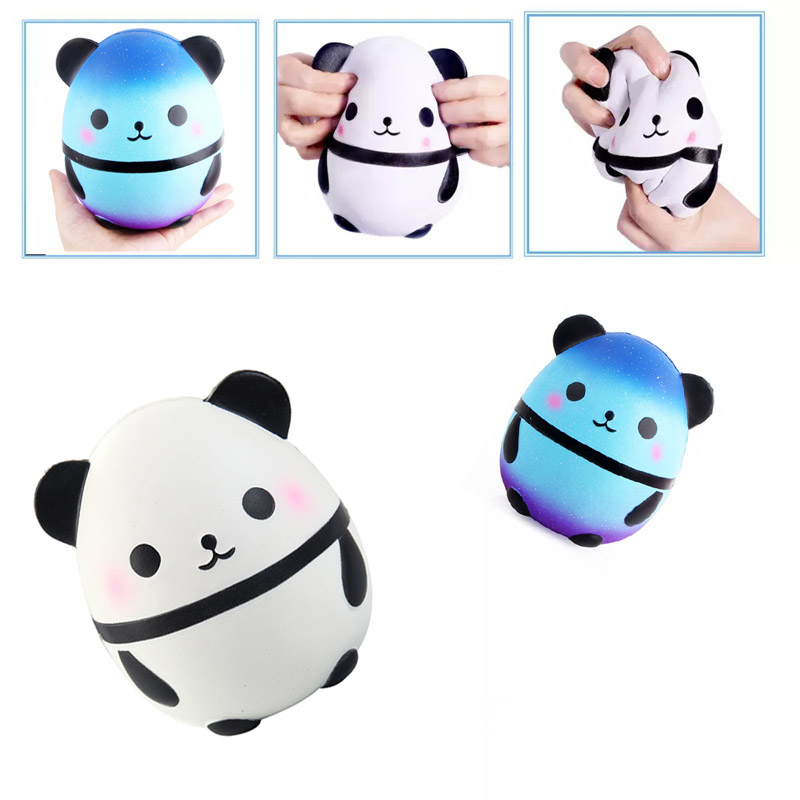 Squeeze Toys Squishy Toy Panda Slow Rising 15cm Soft Squeeze Cute Cell Phone Strap Gift Stress Children Toys