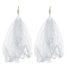 2 шт. нейлоновая медная пружинная обувная рыболовная сетка со светящимися бусинами сетка для ночной рыбалки рыболовные снасти Pesca