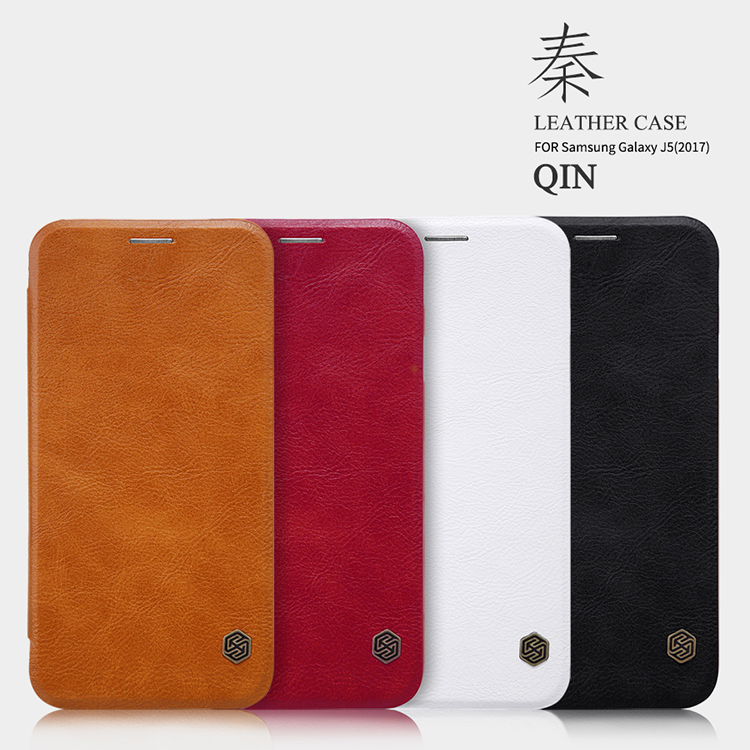 Case for Samsung J5 2017 Phone case NILLKIN QIN Hight Quality lthr Leather case For Samsung Galaxy J5 2017 Case