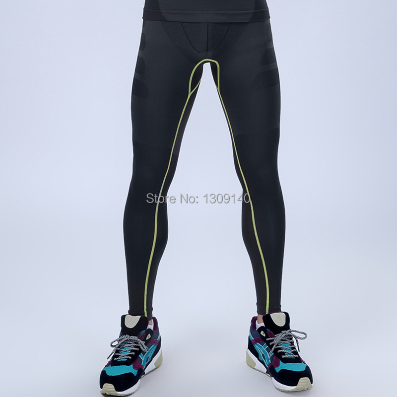mens compression sportswear pants slimming tigts long panties body shaper panties quick dry brethable lose weight MA05