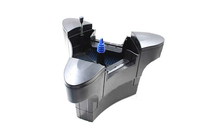 Multi-fonction flottant fontaine maker et d'oxygène skimmer 45 w 2000L/h pour les poissons étang de jardin piscine