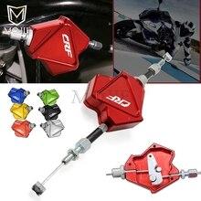 Мотоцикл с ЧПУ Алюминий трюк рычаг сцепления легкого выжима кабельного Системы для HONDA CRF 150 230 250 450 1000 R RX X F L M ралли л