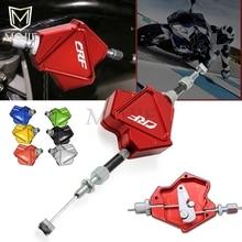 Алюминиевый Рычаг сцепления для мотоцикла с ЧПУ, легко Тяговая система кабелей для HONDA CRF 150 230 250 450 1000 R RX X F L M RALLY L
