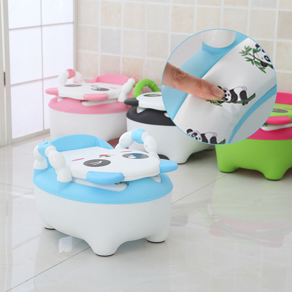 Portable Baby Potty Cute Cartoon Baby Toilet Car Children's Potty Child Potty Chair Training Girls Boy Kids Toilet Seat