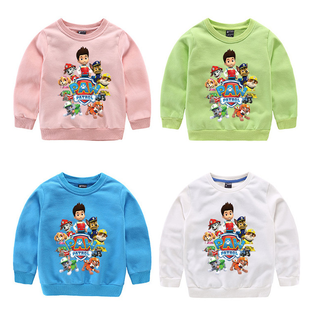 Sweatshirts hoodies girls boys clothing More color kids clothes cartoon  tops casual style 1 pcs   for 3-9T