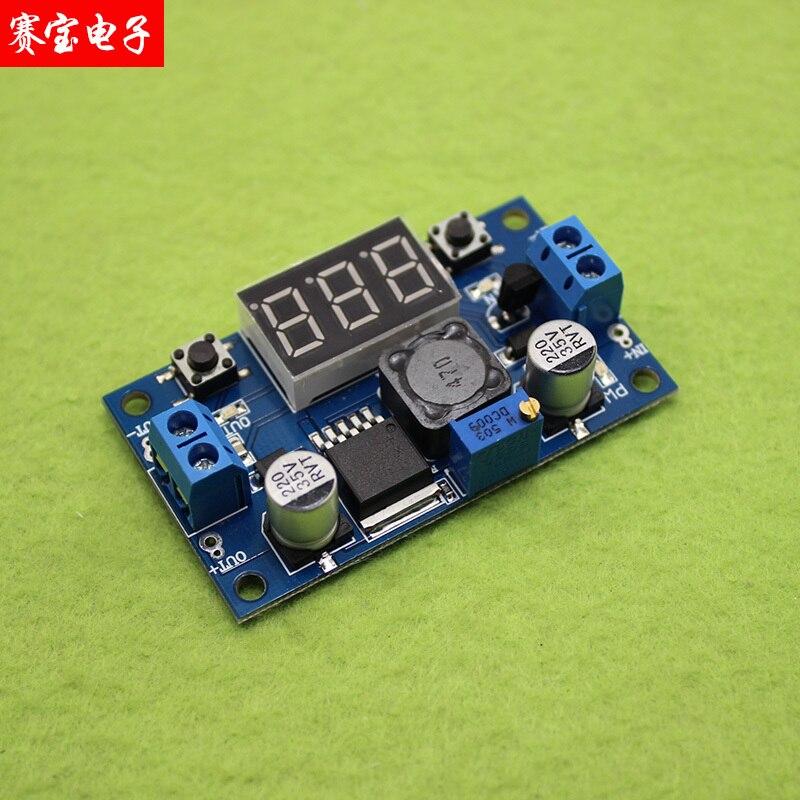 XL6009 DC - DC can raise pressure module 4.5-32 v l 6-35 v output display C3B5 adjustable belt