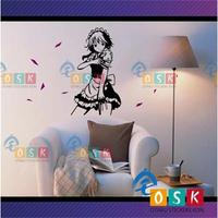 Oriental animation wall stickers Red Mansions night night 16 days of PAD long pain wall stickers