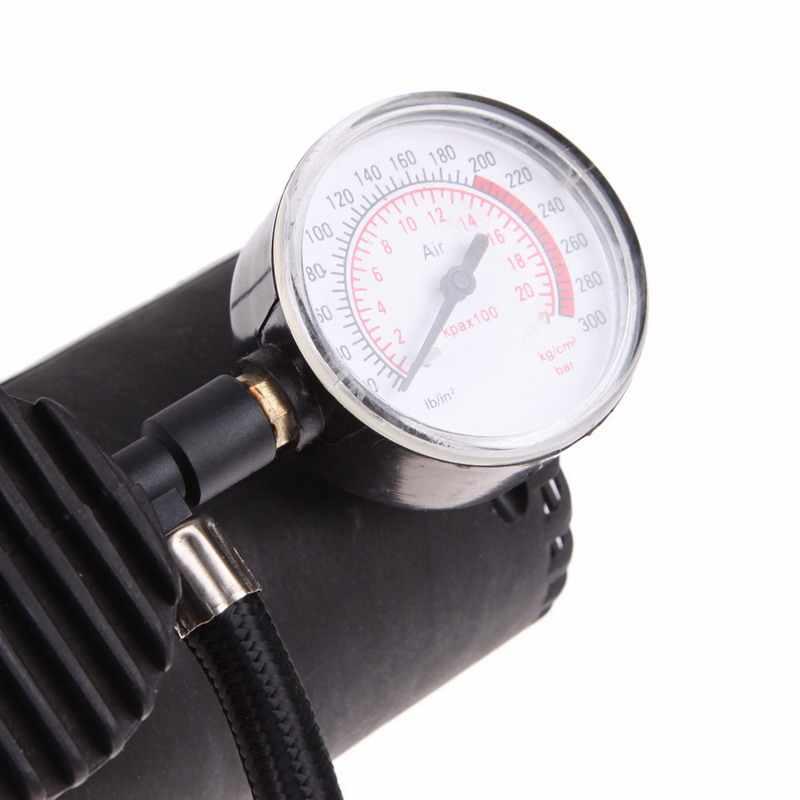 العالمي المحمولة تنوعا 12 فولت السيارات السيارات ضاغط الهواء الكهربائي دراجة موتور عجلة الاطارات مضخة إنفالبتور 300 PSI XR