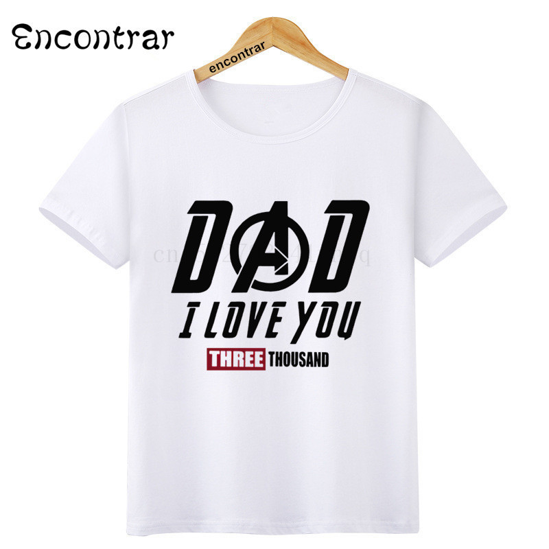 Children/'s Present I LOVE Daddy Kids T Shirt for Boys /& Girls All sizes