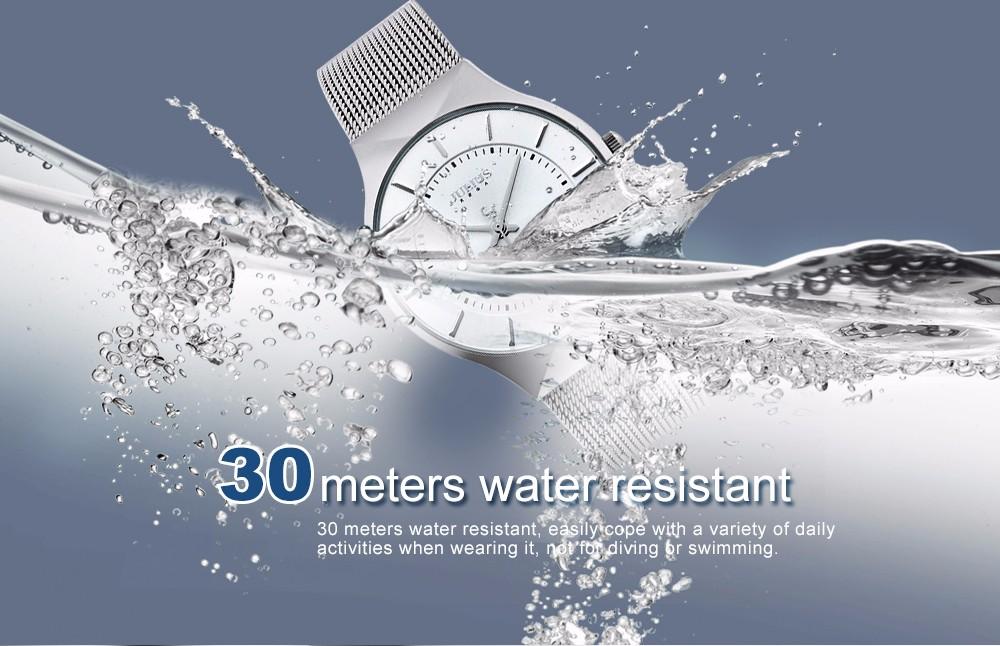Julius Men Watch Stainless Steel Band Analog Display Quartz Wristwatch (8)
