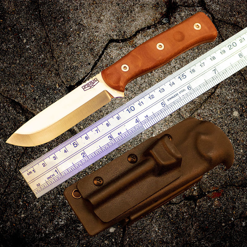 60HRC High quality PSRK knife YTL8 blade Micarta handle outdoor EDC camping knife survival tool hunting