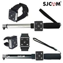 الأصلي يمكن ارتداؤها أسورة يد ساعة اليد التحكم عن بعد Monopod حامل البطارية ل Sjcam M20 Sj6 SJ8 sj9 سترايك/SJ10 كاميرا