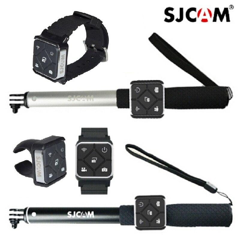 Original Wearable Wrist Bracelet Wristwatch Remote Control Monopod Holder Battery For Sjcam M20 Sj6 SJ8pro Sj9 Strike/Max Camera