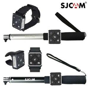 Image 1 - オリジナルウェアラブル手首のブレスレット腕時計リモコン一脚ホルダーバッテリーsjcam M20 Sj6 SJ8 sj9 ストライク/SJ10 カメラ