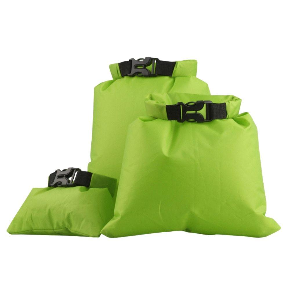 Outdoor waterproof bag 3-Size Set rafting upstream Creek packing bag lightweight waterproofcompression swimming bag