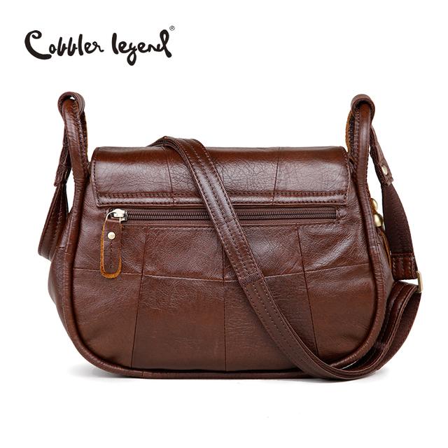 Cobbler Legend Brand Designer 2016 Women's Genuine Leather Vintage Single Shoulder Bag Women Crossbody Bags Handbags For Ladies#