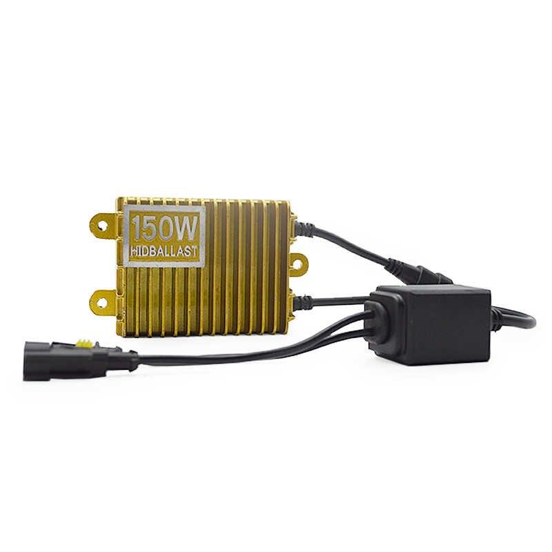 TPTOB 150W Gold Ballast kit HID Xenon Light bulb 12V H1 H3 H7 H11 9005 9006 6000k  Auto Xeno Headlight Lamp Unadjustable
